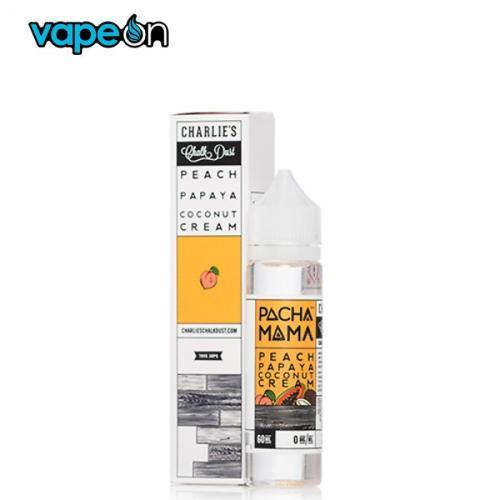 Pachamama Peach Papaya Coconut Cream eJuice