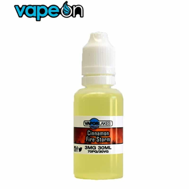 Vapor Lakes Cinnamon Fire Storm eJuice