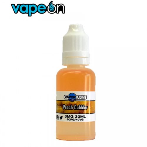 Vapor Lakes Peach Cobbler eJuice