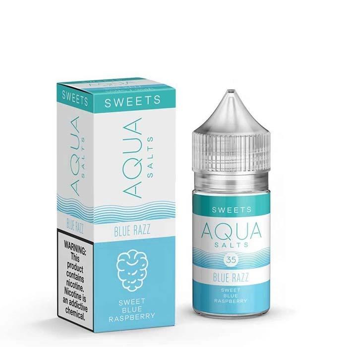 Aqua – Blue Razz Salt