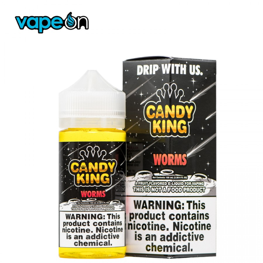 Candy King Sour Worms eJuice