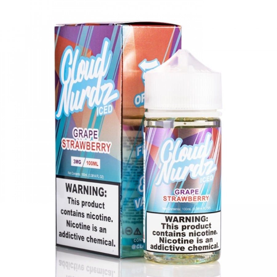 Cloud Nurdz - Grape Strawberry ICED