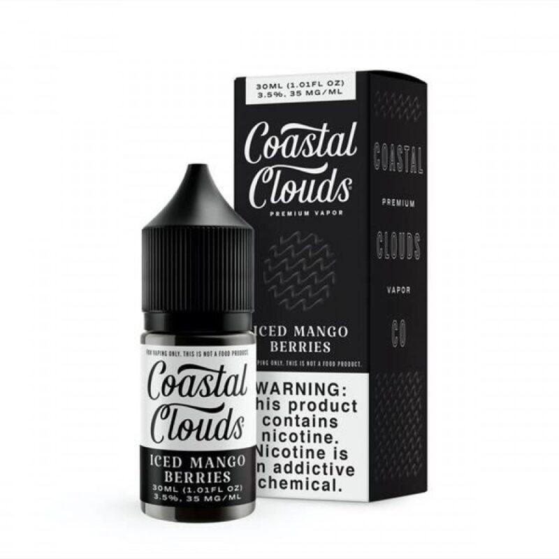 Coastal Clouds - Iced Mango Berries Salt