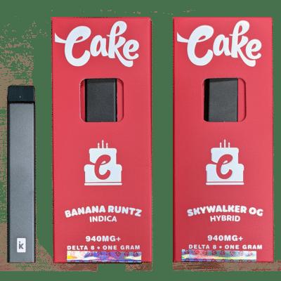 delta-8 cake disposable
