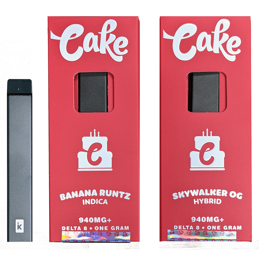 delta-8 cake disposable
