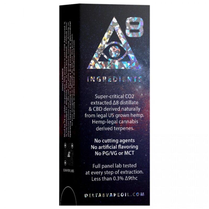 iDelta 8 - Diamond Cartridge Full Gram Back