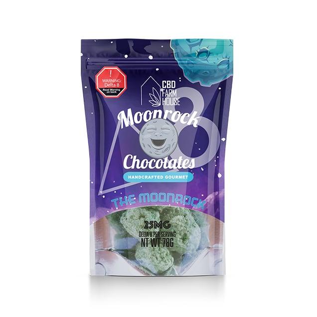 CBD Farm House Chocolate Moonrock Delta-8 THC