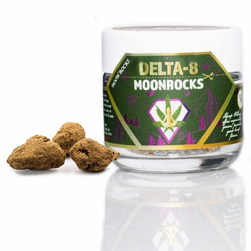 Hemp Wellness - Delta-8 Moonrocks 5G Grape Haze