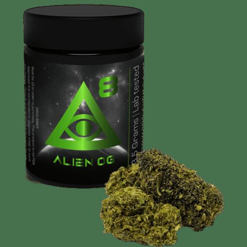 iDelta 8 - Flower Alien OG